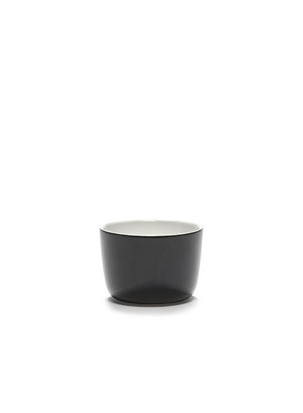 Vincent Van Duysen Cappuccinokop zonder oor VVD 8,5 H6 20cl - Geglazuurd zwart