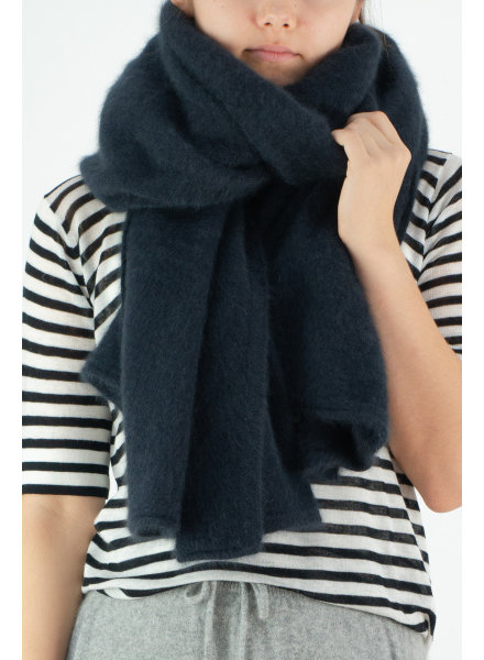 CT Plage Raccoon Stole - Navy
