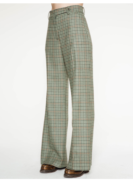 Margaux Lonnberg Clark pants - Green check