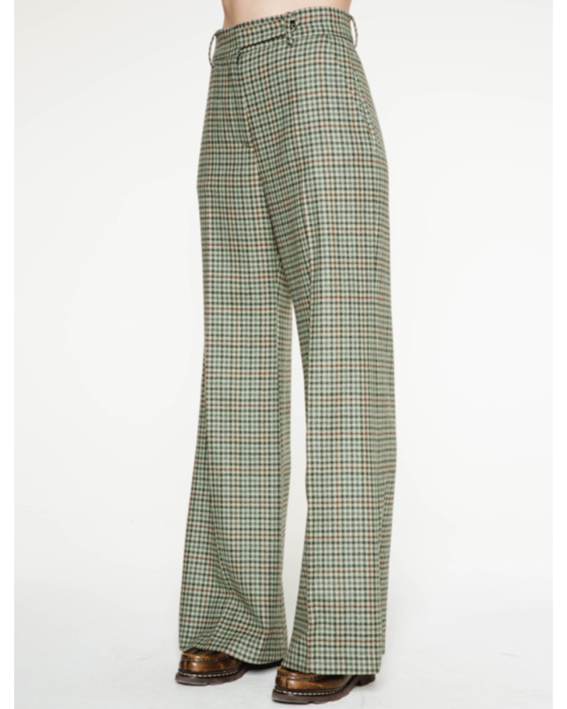 Margaux Lonnberg Clark pants - Green check