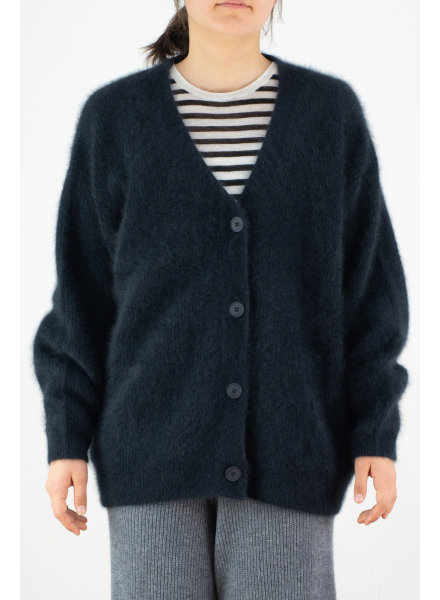 CT Plage Raccoon cardigan vneck - Navy
