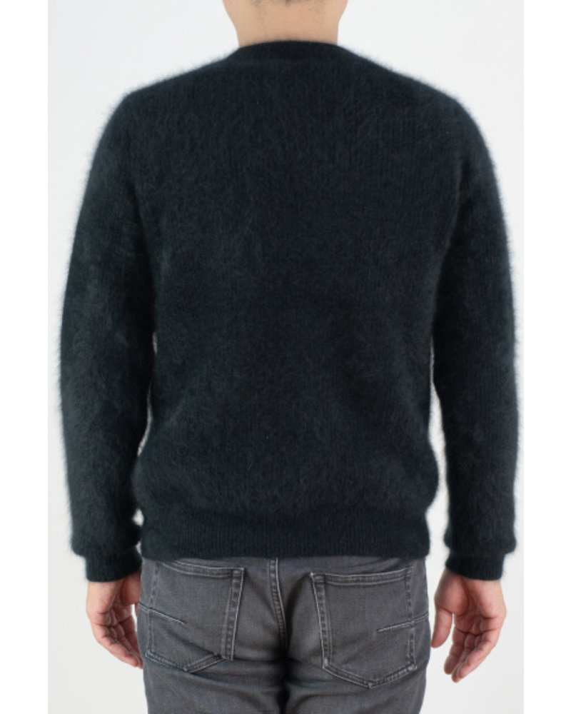CT Plage UNISEX Raccoon Round Pullover - Black