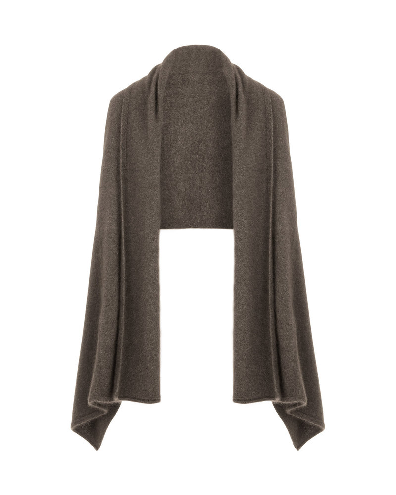 CT Plage Raccoon stole - Grey Brown