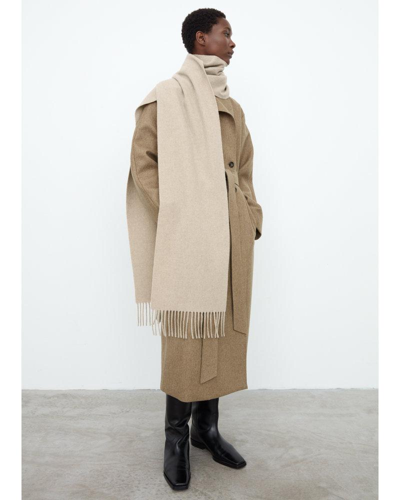 Totême Bova scarf - Light Beige