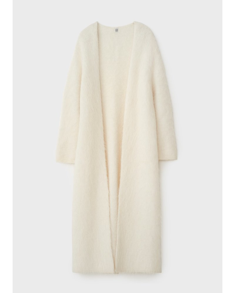 Totême Sa Rocha alpaca cardigan - Ivory