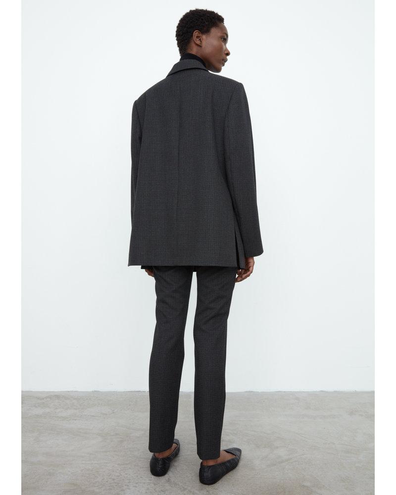 Totême Loreo slit blazer - Dark Grey