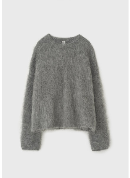 Totême Biella alpaca sweater - Grey