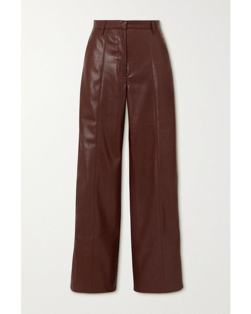 Nanushka Cleo pants - Plum Chutney