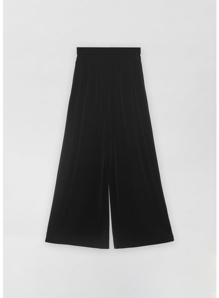 CO Palazzo Pant in Stretch Crepe - Black