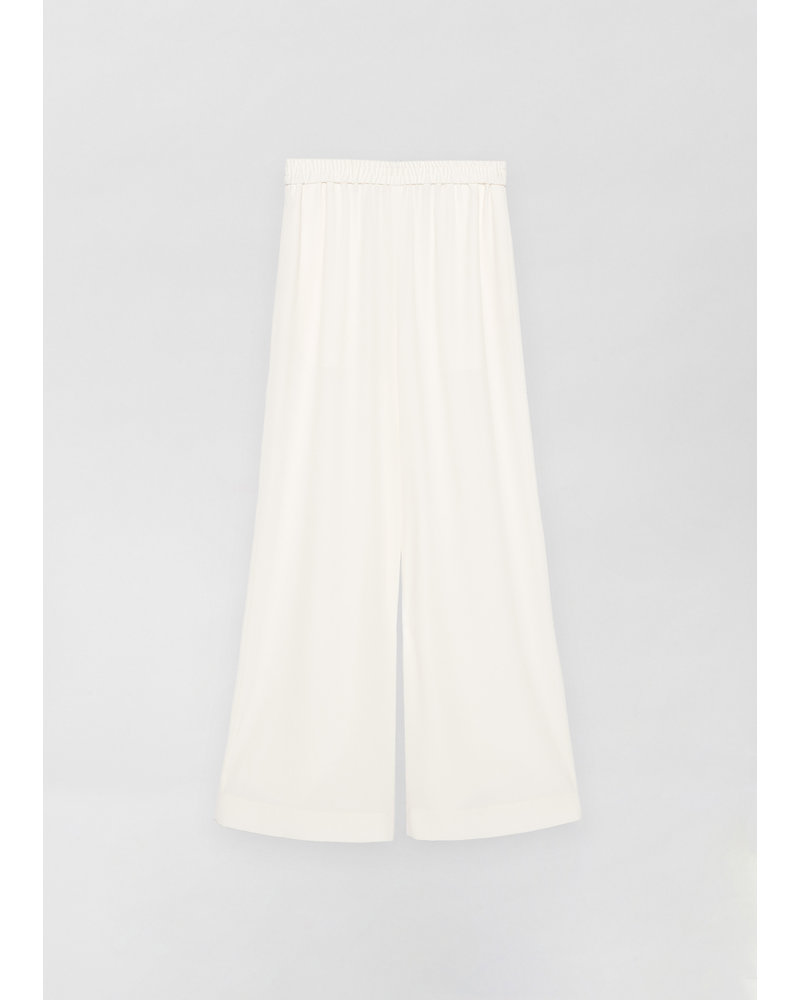 CO Palazzo Pant in Stretch Crepe - Ivory