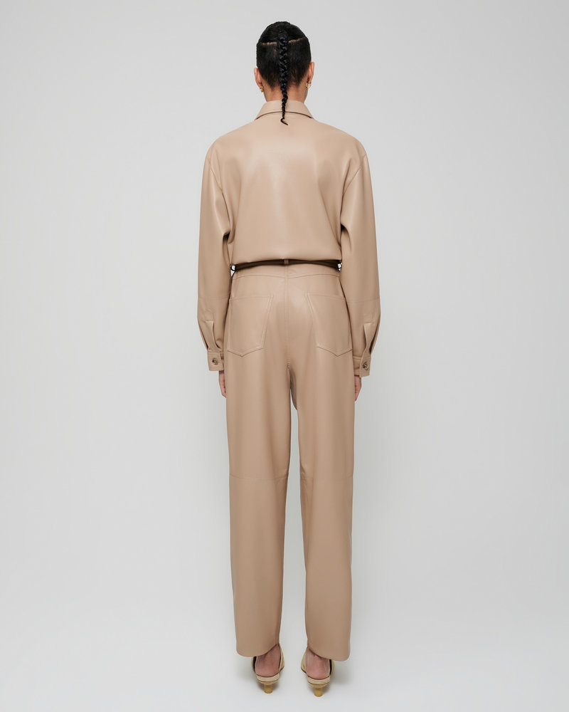 Nanushka Ashton Jumpsuit - Sandstone