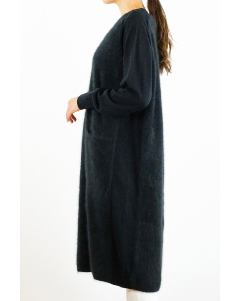 CT Plage Round Raccoon dress - Black