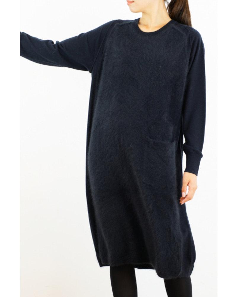 CT Plage Round Raccoon dress - Navy