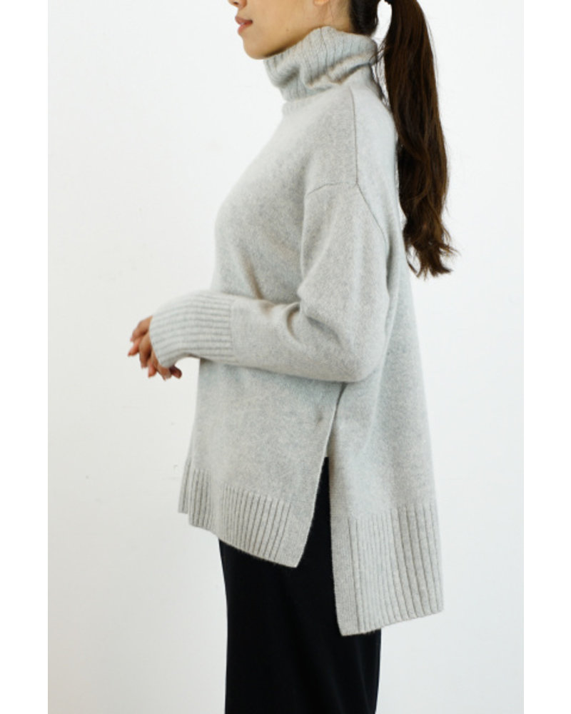 CT Plage Cashmere high neck - Light Grey
