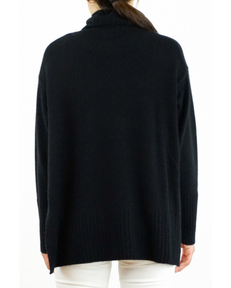 CT Plage Cashmere high neck - Black