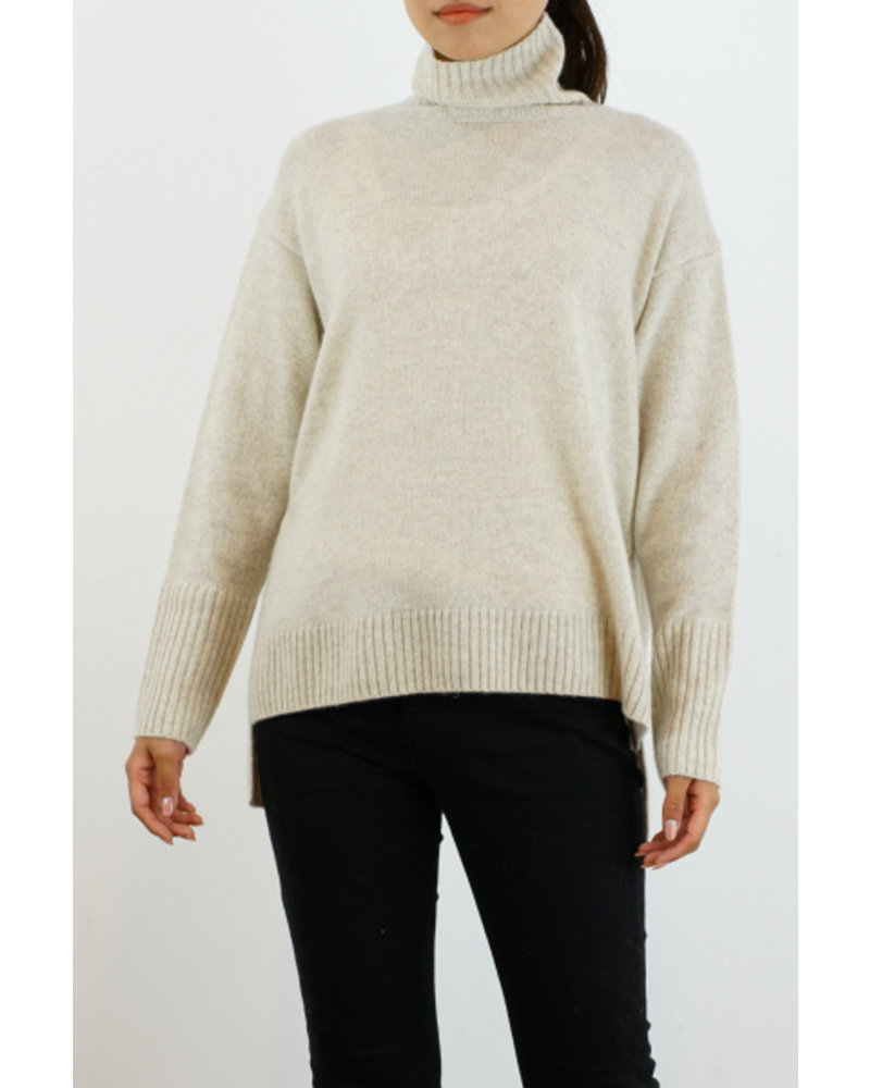 CT Plage Cashmere high neck - Ivory