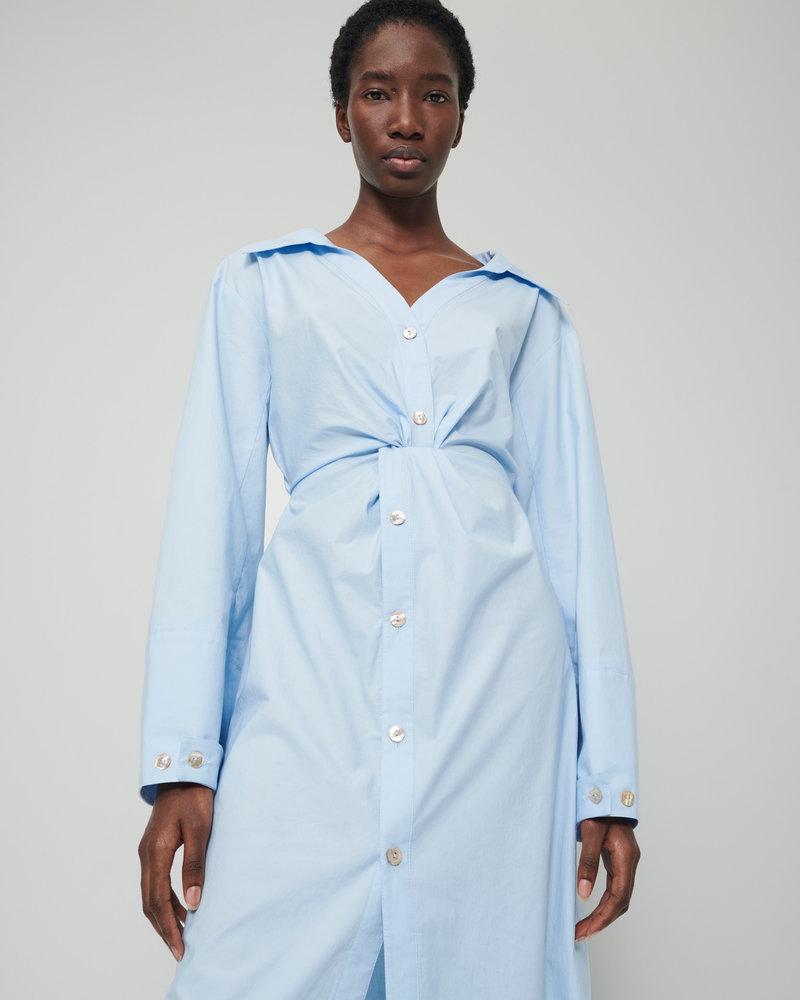 Nanushka Ayse dress - Sky Blue