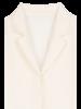 Blossom Loe half-sleeve Blouse - Cream
