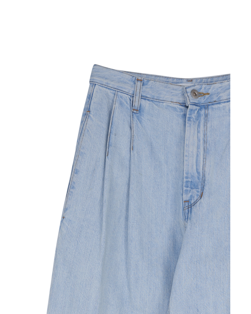 Blossom B Wide Jean - Light Blue