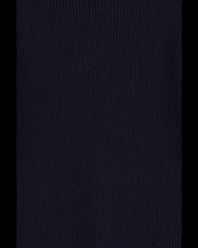 Blossom Boucle half-sleeve knit - Navy