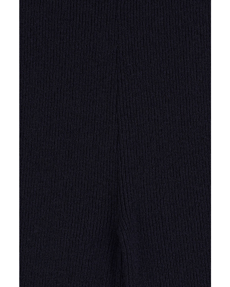 Blossom Boucle knit pant - Navy
