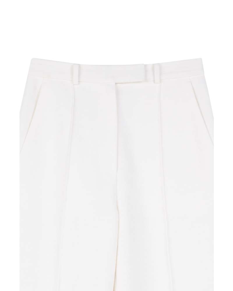 Blossom BA Linen Pants - Ivory