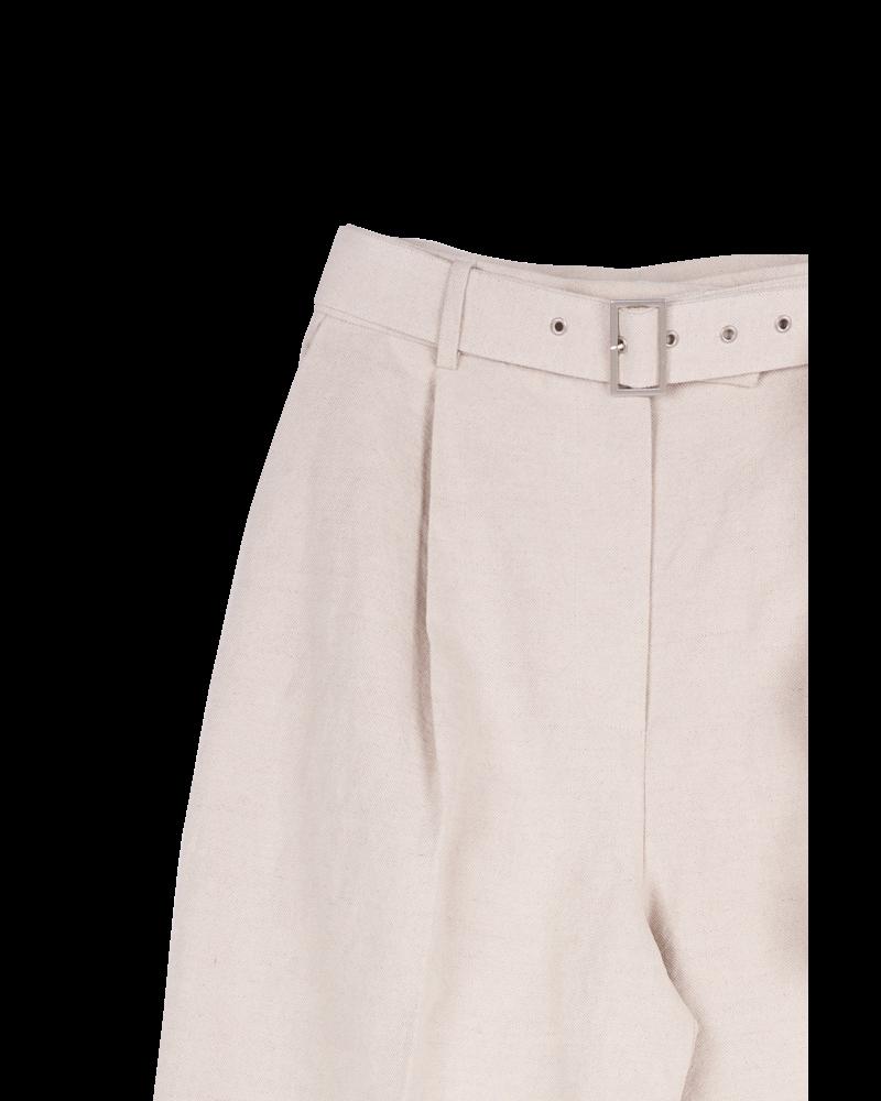 Blossom POI Belt Pants - Beige