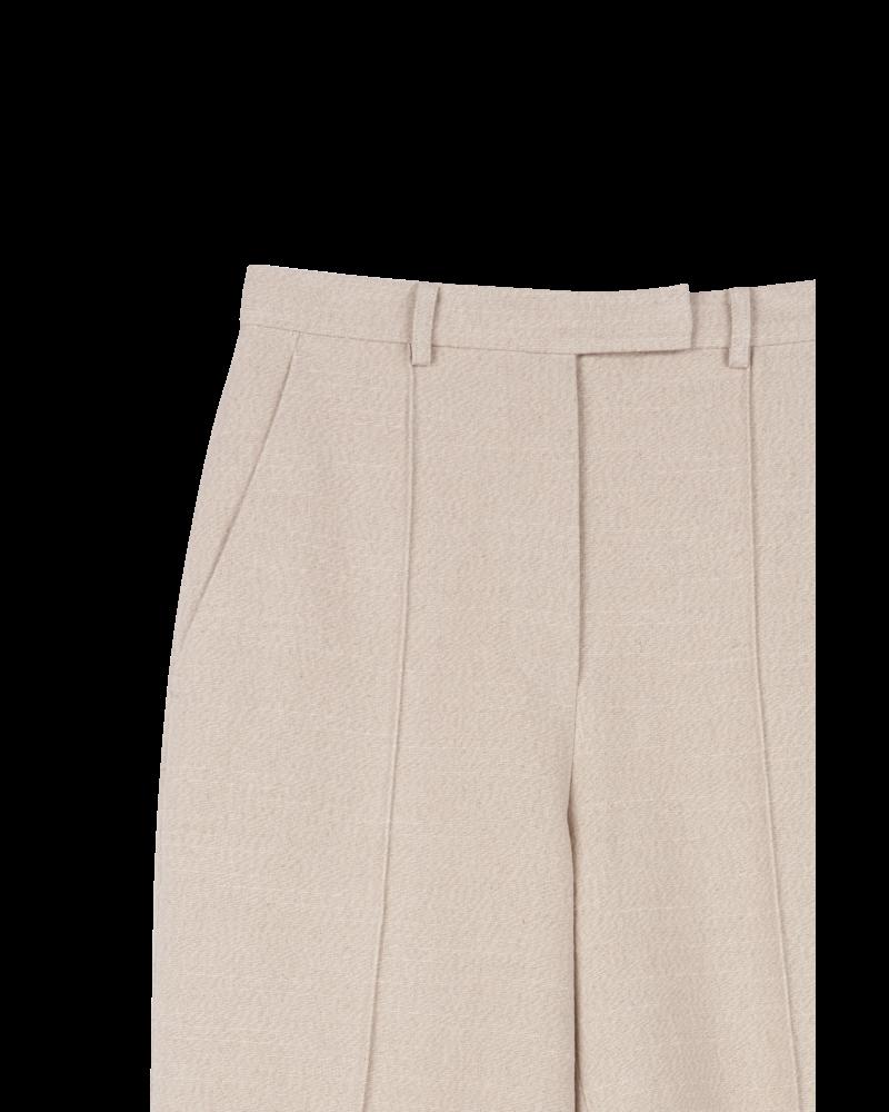 Blossom BA Linen Short pants - Beige