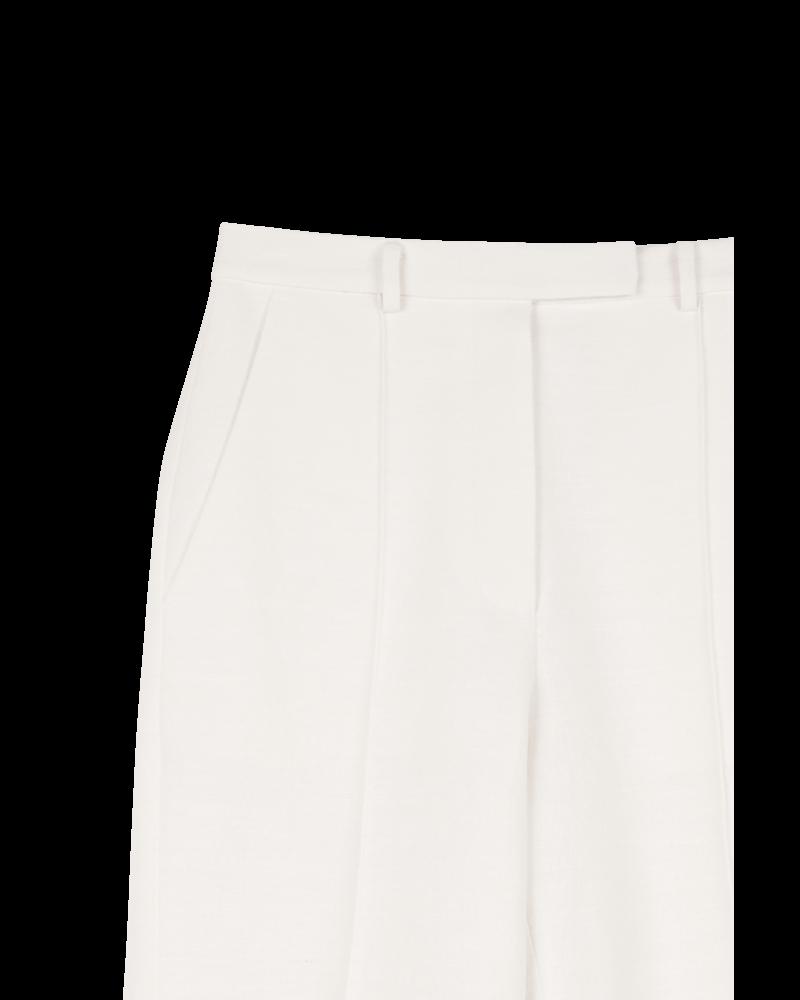 Blossom BA Linen Short pants - Ivory