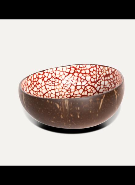 P'Tit Pot Coconut Bowl - Dark Red