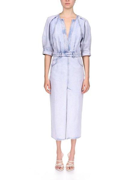 Iro Alysu dress - Snow Blue