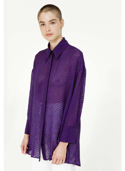 Margaux Lonnberg Perry shirt - Purple