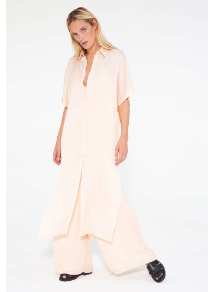 Margaux Lonnberg Freja dress - Peach
