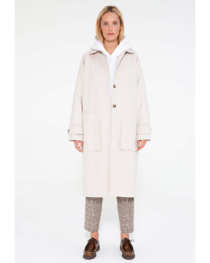 Margaux Lonnberg Martson coat - Off White