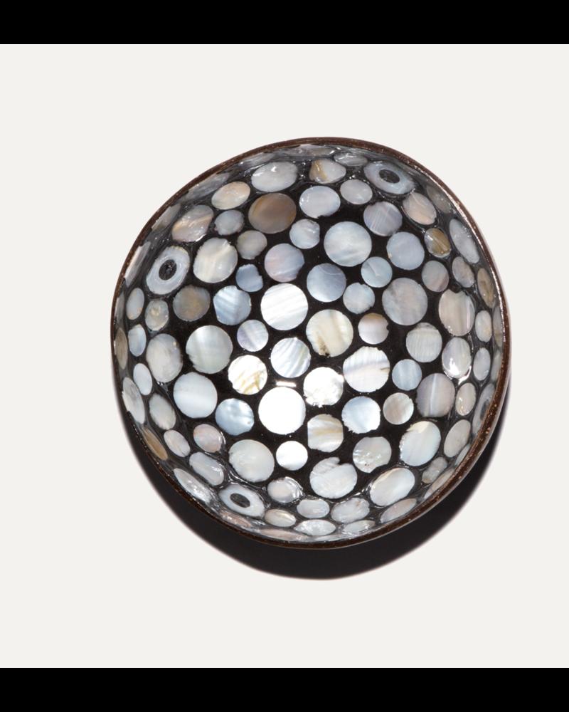 P'Tit Pot Coconut Bowl - Grey Pearl