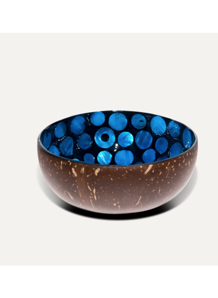 P'Tit Pot Coconut Bowl - Blue Pearl