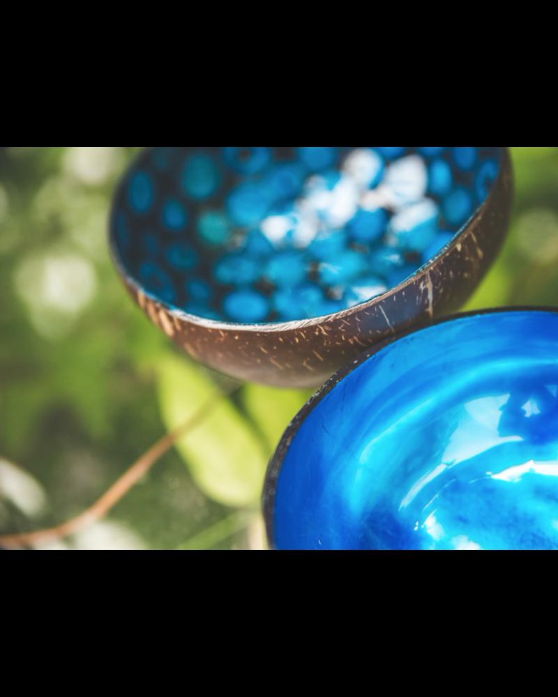 P'Tit Pot Coconut Bowl - Blue Pearl
