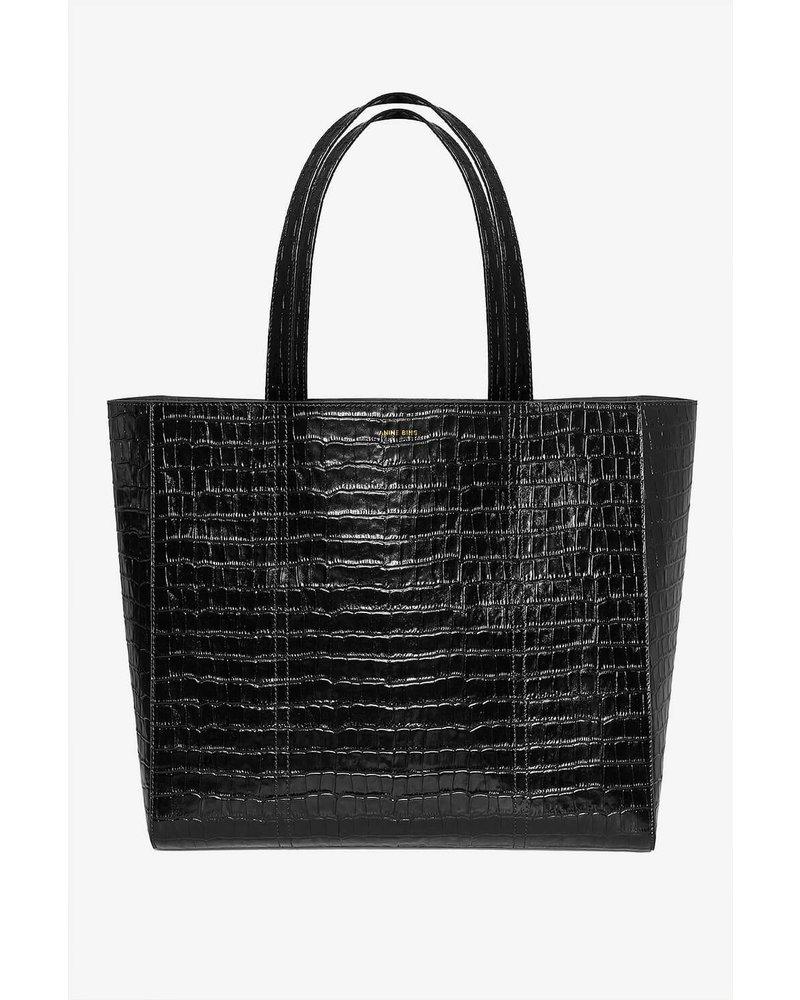 Anine Bing Holland Bag - Croco