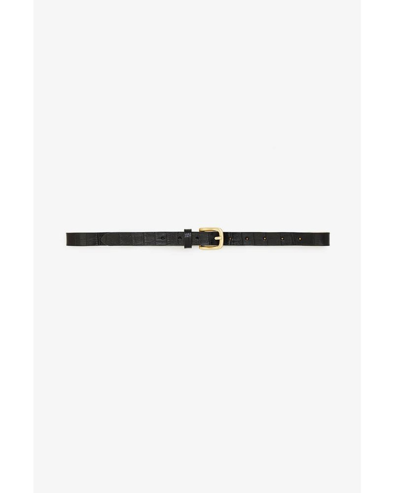 Anine Bing Jane Belt - Croco