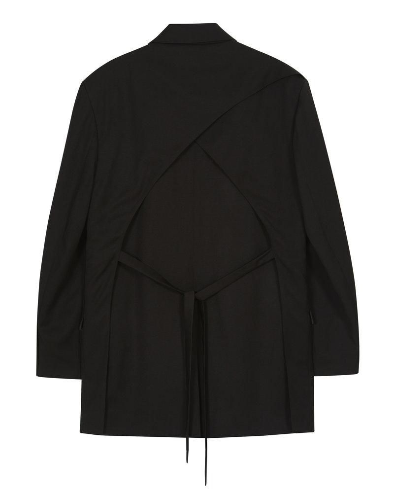 The Loom Back Fly Jacket - Black