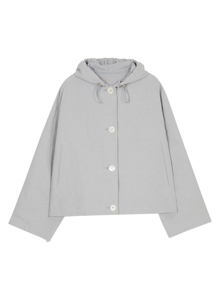 The Loom Overfit hood jumper - Light Blue
