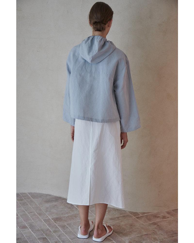 The Loom Overfit hood jumper - Light Blue