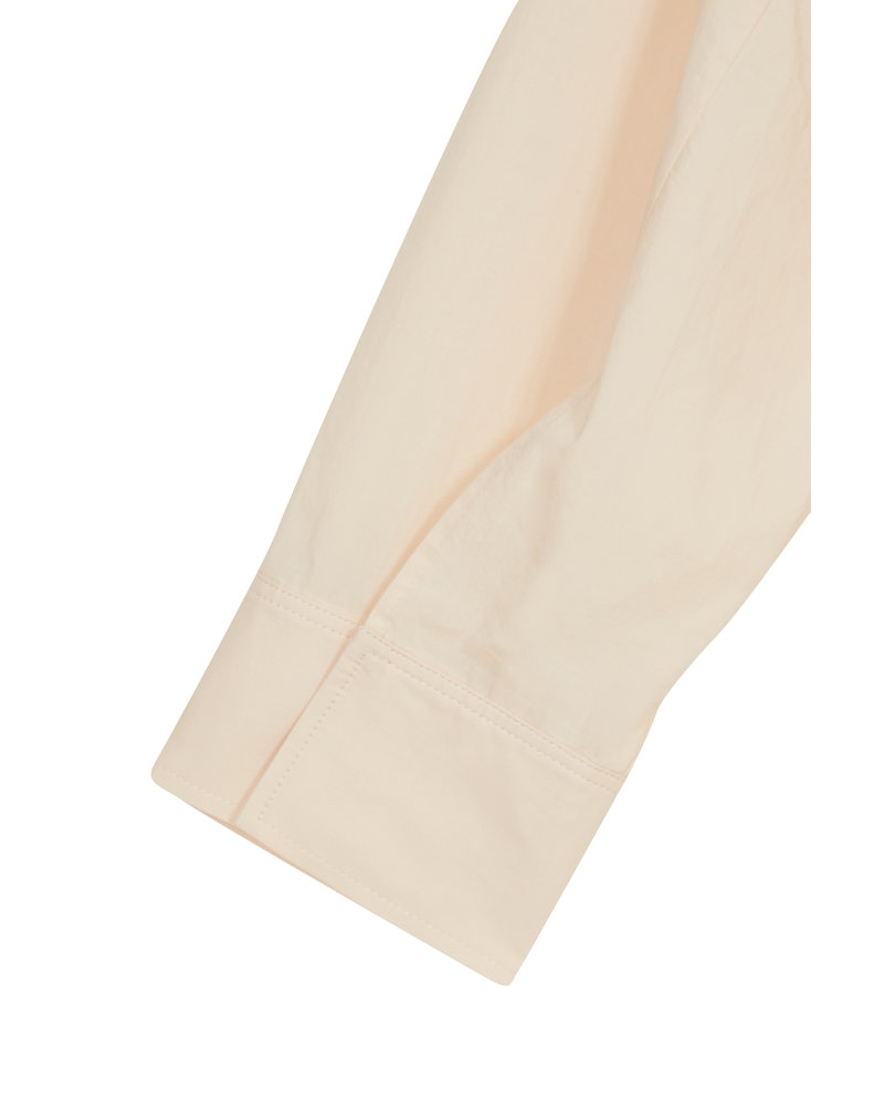 The Loom Back Button Down Shirt - Light Beige
