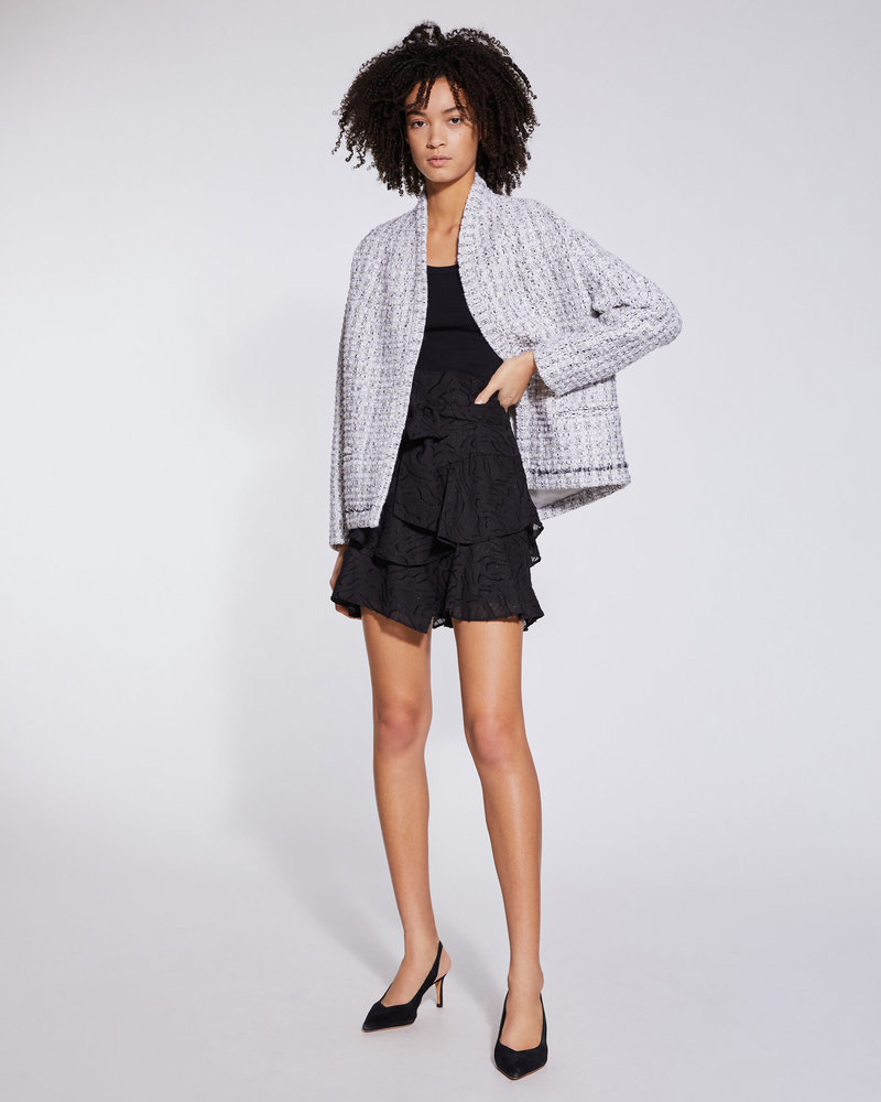 Iro Skia Jacket - White/Black