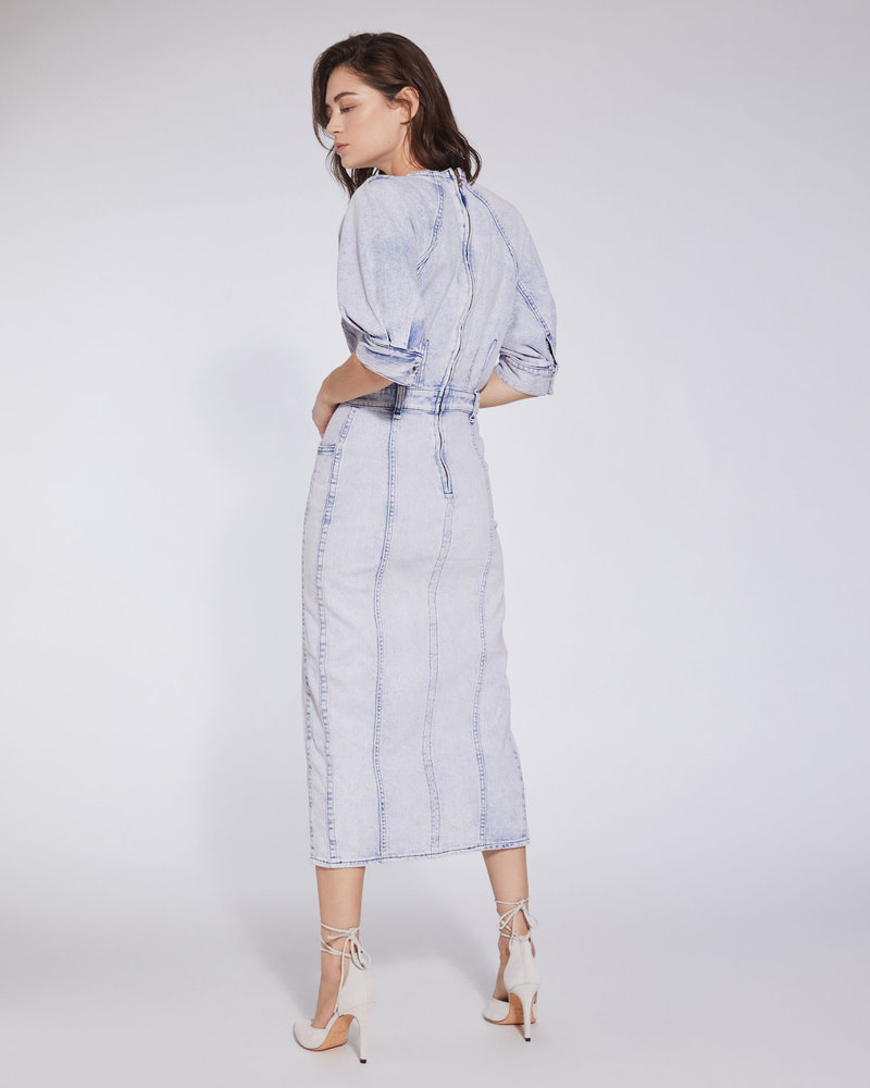 Iro Alysu dress - Snow Blue