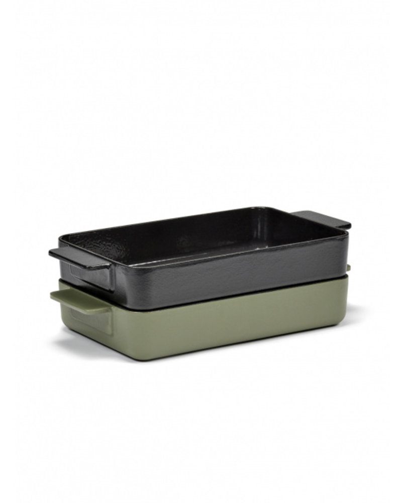 Surface by Sergio Herman Oven dish L Black Surface