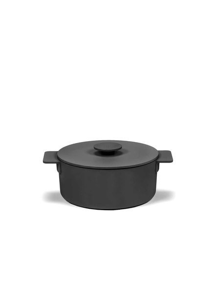 Surface by Sergio Herman Pot Enamel S - Black - Surface