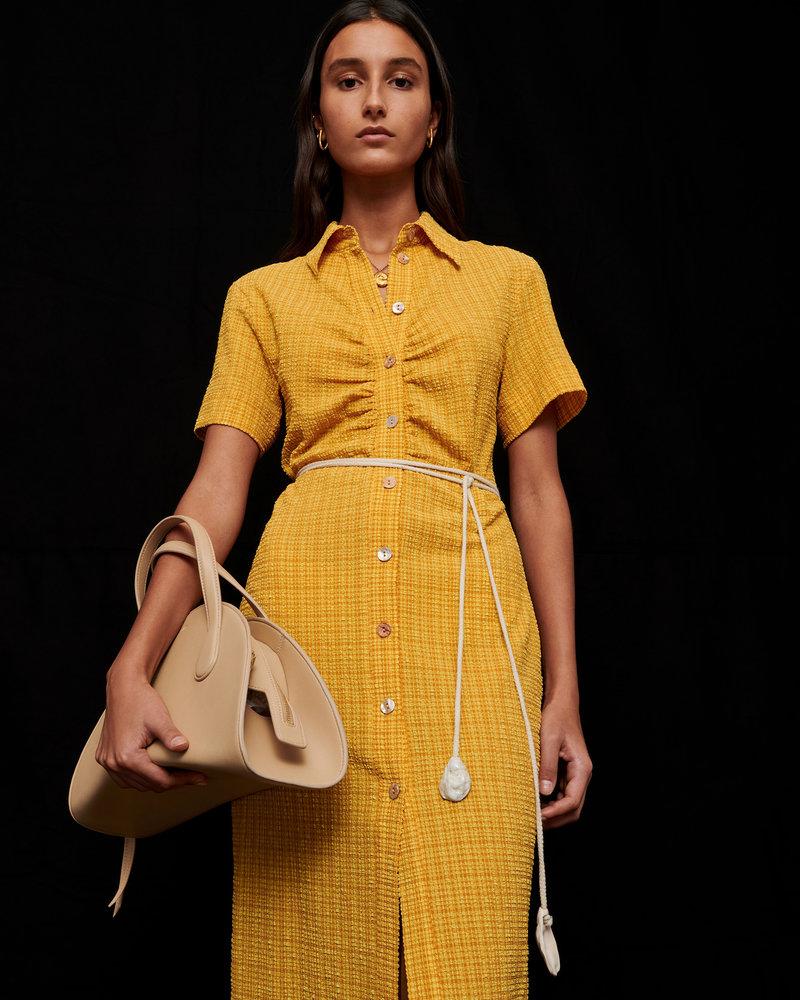 Nanushka Sabri dress - Yellow Check