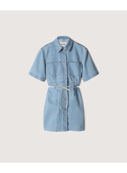 Nanushka Taylor dress - Light Blue