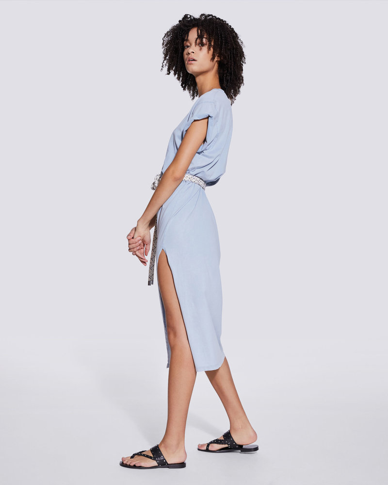 Iro Elisha dress - Light Blue